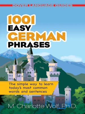 cover image of 1001 Easy German Phrases
